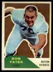 1960 Fleer #36  Bob Yates  Front Thumbnail