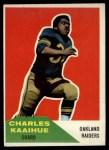 1960 Fleer #104  Charles Kaaihue  Front Thumbnail