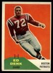 1960 Fleer #125  Ed Denk  Front Thumbnail