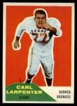 1960 Fleer #60  Carl Larpenter  Front Thumbnail