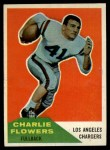 1960 Fleer #102  Charlie Flowers  Front Thumbnail