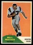 1960 Fleer #99  Bill Mathis  Front Thumbnail