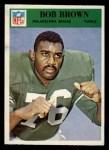 1966 Philadelphia #134  Robert Brown  Front Thumbnail