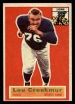1956 Topps #8  Lou Creekmur  Front Thumbnail