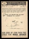 1959 Topps #21  Charlie Ane  Back Thumbnail