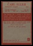 1965 Philadelphia #105  Carl Eller    Back Thumbnail