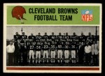 1965 Philadelphia #29   Browns Team Front Thumbnail