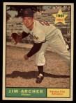 1961 Topps #552  Jim Archer  Front Thumbnail