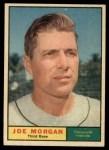 1961 Topps #511  Joe Morgan  Front Thumbnail