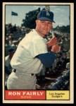 1961 Topps #492 COR Ron Fairly  Front Thumbnail