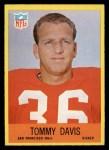 1967 Philadelphia #174  Tommy Davis  Front Thumbnail