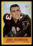 1967 Philadelphia #8  Jerry Richardson  Front Thumbnail