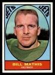 1967 Topps #96  Bill Mathis  Front Thumbnail