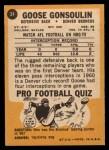 1967 Topps #34  Austin Goose Gonsoulin  Back Thumbnail