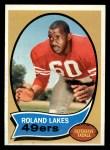 1970 Topps #27  Roland Lakes  Front Thumbnail