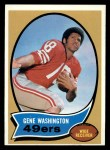 1970 Topps #81  Gene Washington  Front Thumbnail