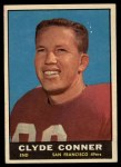 1961 Topps #62  Clyde Conner  Front Thumbnail