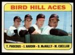 1969 Topps #532   -  Mike Cuellar / Jim Hardin / Dave McNally / Tom Phoebus Bird Hill Aces Front Thumbnail