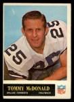 1965 Philadelphia #49  Tommy McDonald   Front Thumbnail