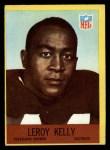 1967 Philadelphia #43  Leroy Kelly  Front Thumbnail