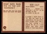 1967 Philadelphia #55  Bob Lilly  Back Thumbnail