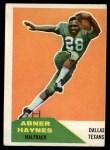 1960 Fleer #73  Abner Haynes  Front Thumbnail