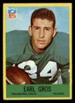 1967 Philadelphia #137  Earl Gros  Front Thumbnail