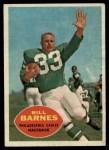 1960 Topps #84  Bill Barnes  Front Thumbnail