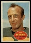1960 Topps #55  Max McGee  Front Thumbnail