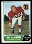 1968 Topps #10  Carl Kammerer  Front Thumbnail