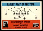 1965 Philadelphia #140   -  Joe Kuharich  Eagles  Front Thumbnail