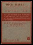 1965 Philadelphia #146  Dick Haley  Back Thumbnail