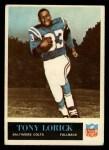 1965 Philadelphia #6  Tony Lorick     Front Thumbnail