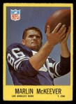 1967 Philadelphia #92  Marlin McKeever  Front Thumbnail