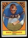 1967 Topps #22  Dick Hudson  Front Thumbnail