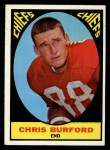 1967 Topps #72  Chris Buford  Front Thumbnail