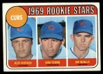 1969 Topps #602 ^COR^  -  Alec Distaso / Don Young / Jim Qualls Cubs Rookies Front Thumbnail