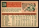 1959 Topps #220  Frank Malzone  Back Thumbnail