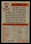 1956 Topps #26   49ers Team Back Thumbnail