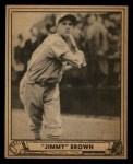 1940 Play Ball #112  Jimmy Brown  Front Thumbnail