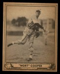 1940 Play Ball #113  Mort Cooper  Front Thumbnail
