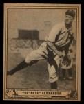 1940 Play Ball #119  Grover Alexander  Front Thumbnail