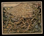 1938 Gum Inc. Horrors of War #130   Japanese Tunnel Under Wall to their Doom Front Thumbnail