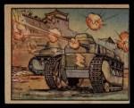 1938 Gum Inc. Horrors of War #51   Tokio Tanks in Action at Nanking Front Thumbnail
