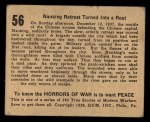 1938 Gum Inc. Horrors of War #56   Nanking Retreat Turned Into Rout Back Thumbnail