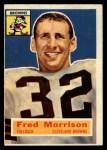 1956 Topps #81  Fred Morrison  Front Thumbnail