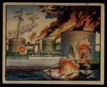 1938 Gum Inc. Horrors of War #267   Jap Bombers Ignite U.S. Oil Tanks Front Thumbnail