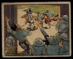 1938 Gum Inc. Horrors of War #192   Machine Guns Protect Itallians from Bandits Front Thumbnail