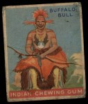 1933 Goudey Indian Gum #36  The Buffalo Bull   Front Thumbnail