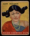 1933 Goudey Indian Gum #84   Hopi Maiden  Front Thumbnail